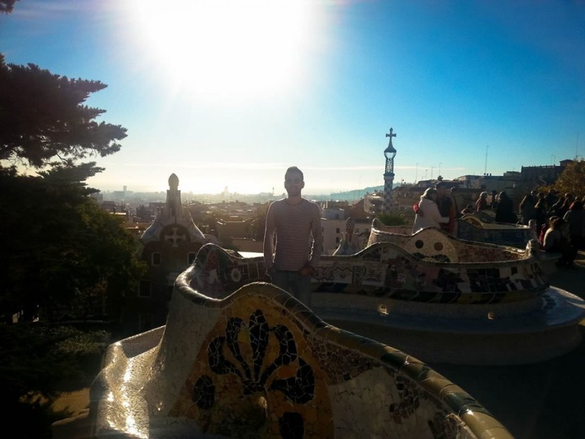 Pedro Guedes Park Guell Barcelona